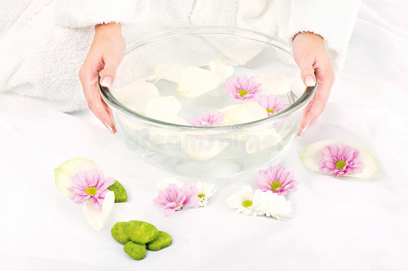 Download Preparing petal bath stock image. Image of soap, rose - 23064695