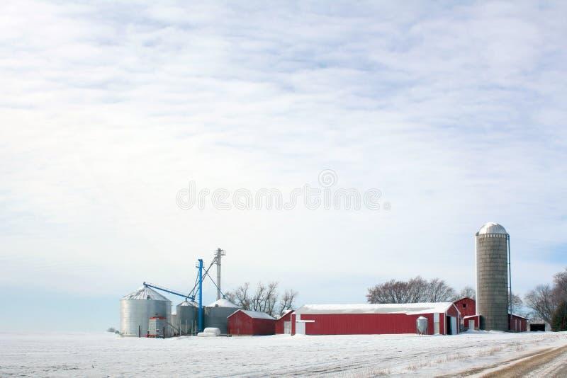 prerii domostwo zimy. obrazy stock