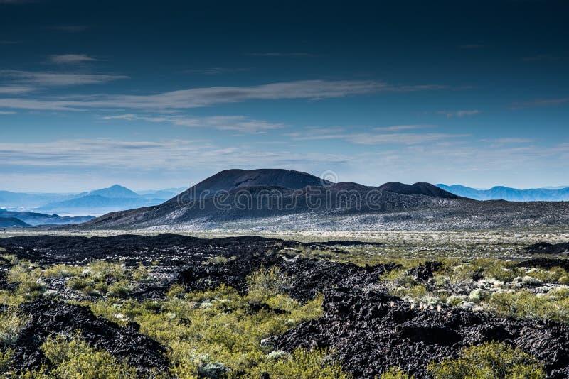 Prerogativa nazionale Lava Beds del Mojave immagini stock libere da diritti