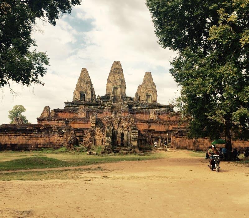 Prerup, Angkor stock fotografie