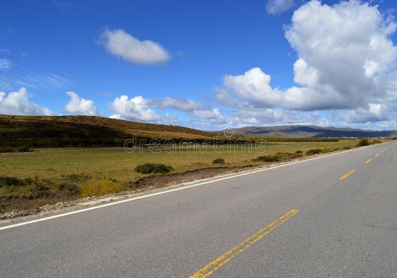 Preryjna autostrada zdjęcie royalty free