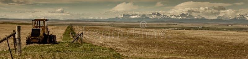 Preryjni krajobrazy zdjęcie royalty free