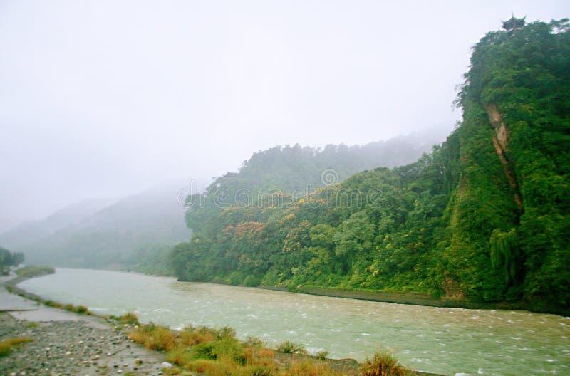 Presa de Dujiang foto de archivo libre de regalías