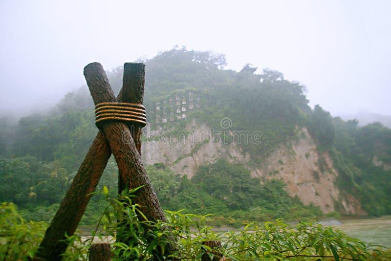 Presa de Dujiang fotografía de archivo