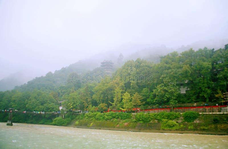 Presa de Dujiang fotos de archivo