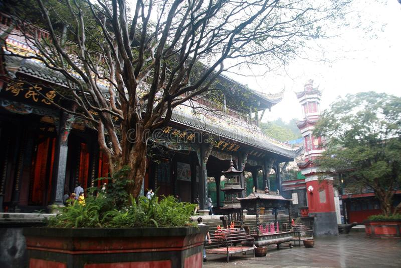 Presa de Dujiang fotografía de archivo libre de regalías