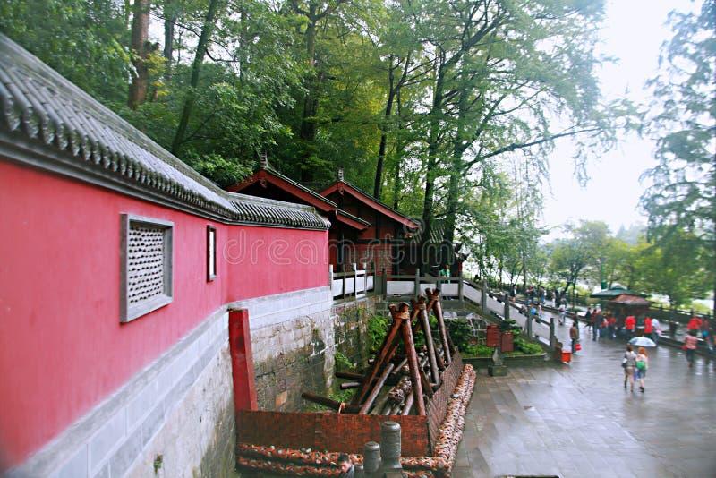 Presa de Dujiang fotos de archivo libres de regalías