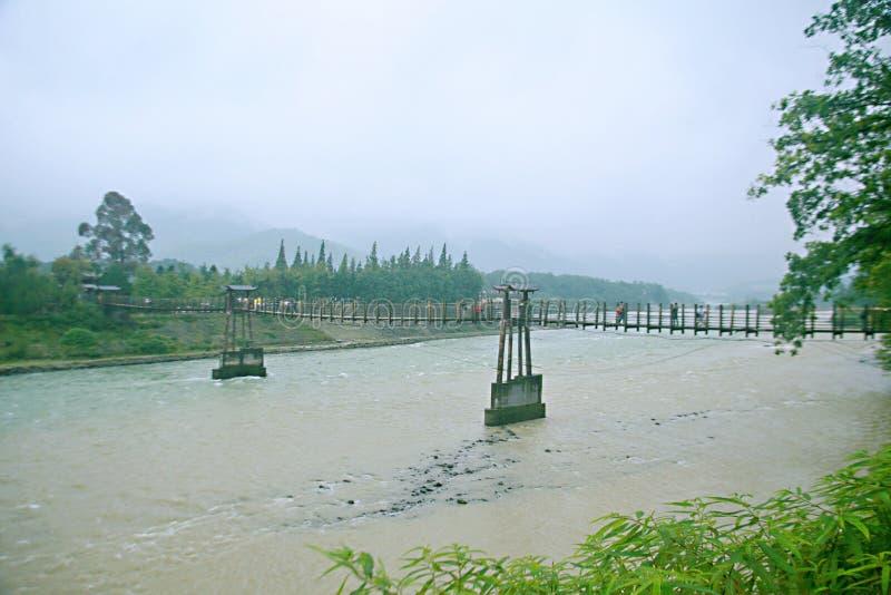 Presa de Dujiang imagen de archivo