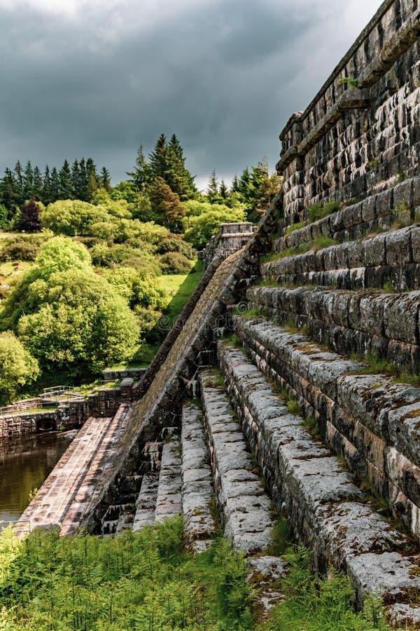 Presa de Fenworth en Dartmoor fotografía de archivo