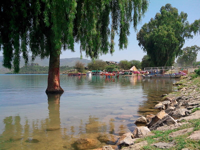 Presa de Khanpur imagenes de archivo