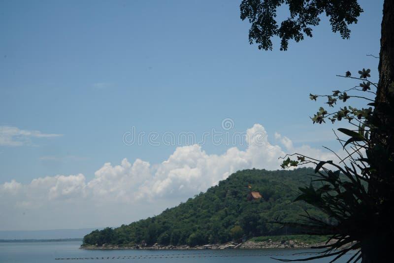Presa de Ubonrat, Khonkaen, Tailandia foto de archivo