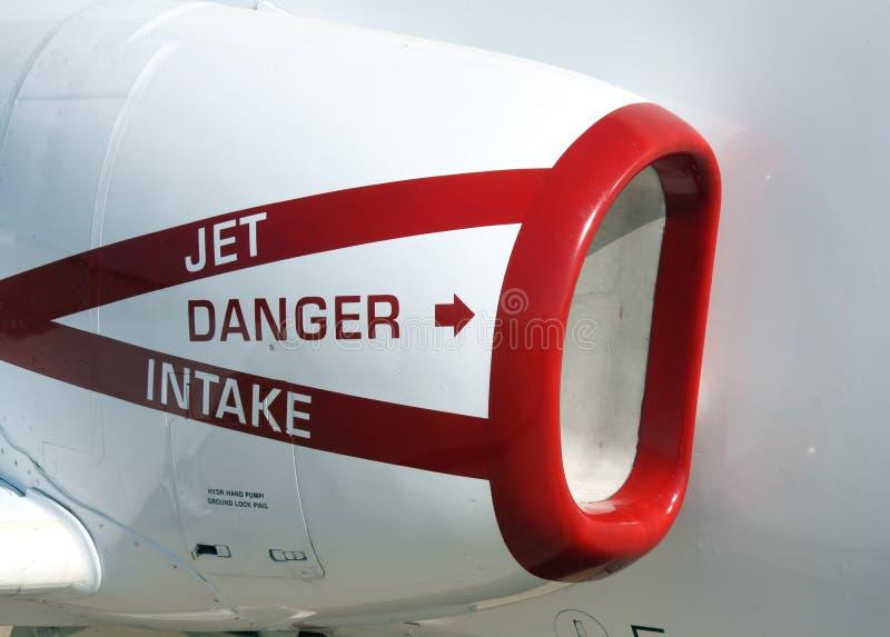 Presa del jet del blu marino fotografia stock libera da diritti