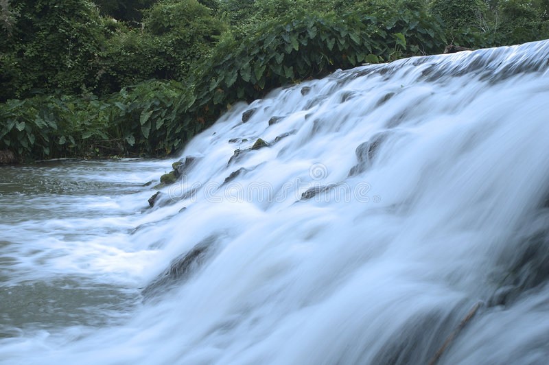 Presa del río fotografía de archivo
