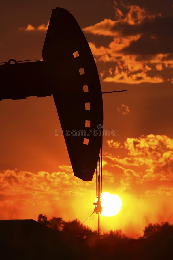 Presa della pompa dell'impianto offshore fotografia stock