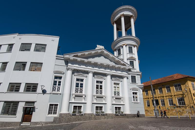 Presbyterianische Kirche von Curitiba lizenzfreie stockbilder