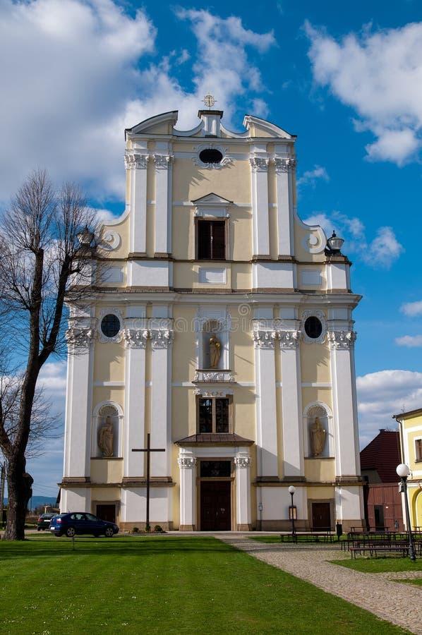 Presbytery Krzeszow, Poland royalty free stock photography