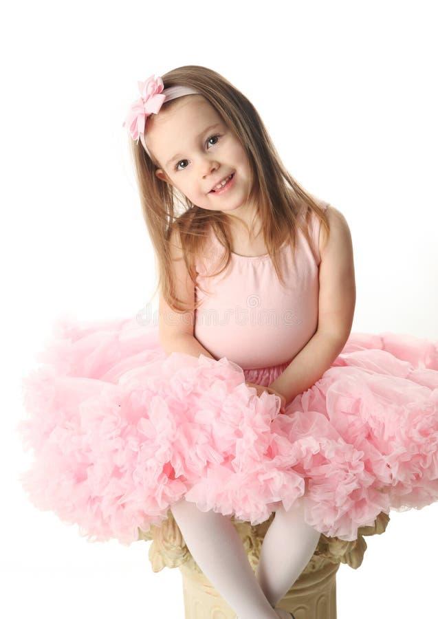 preschool балерины милый стоковое изображение rf