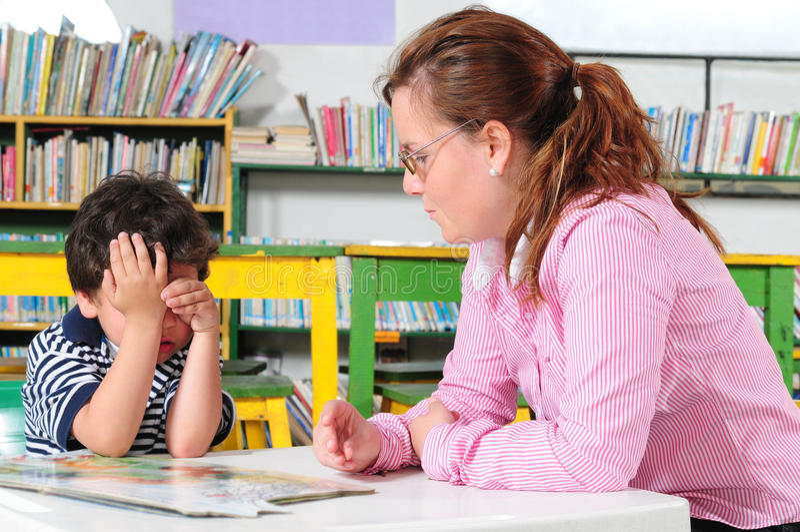 Download Preschool stock image. Image of male, blackboard, cheerful - 12400811