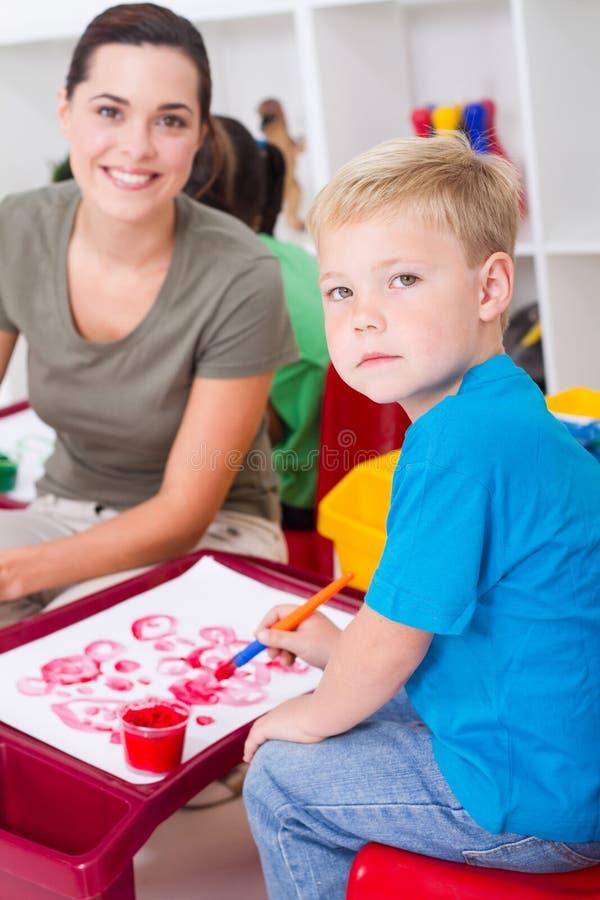 Download Preschool stock photo. Image of kind, kindergarten, enjoying - 15864444
