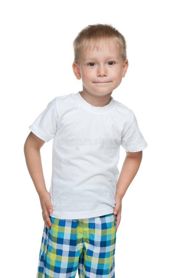 Preschool chłopiec zdjęcia royalty free