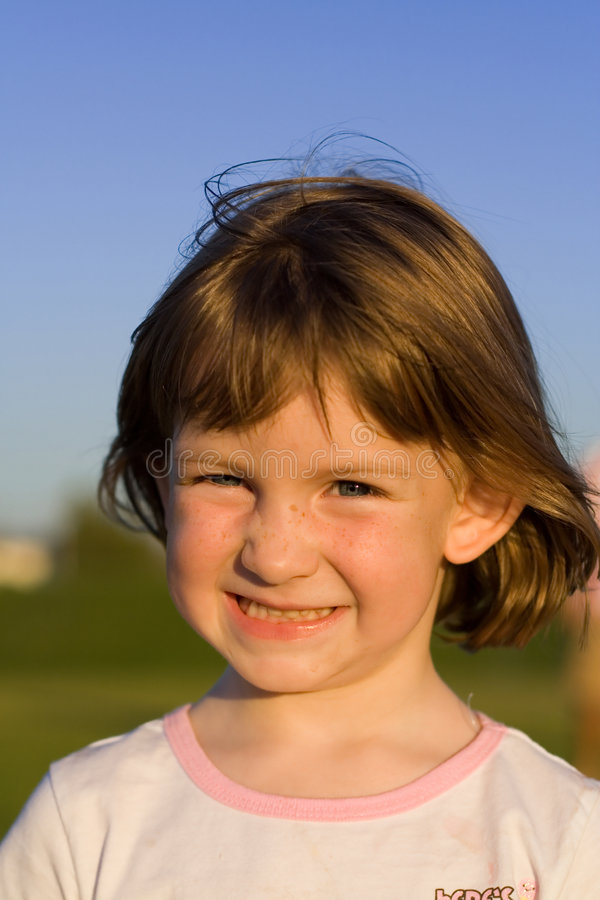 Preschool Child Portrait stock photography