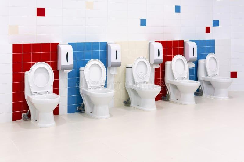 Preschool Washroom stock image Image of restroom clean 36342391