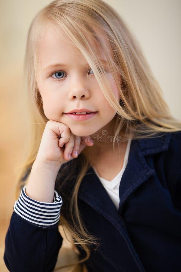 Preschooler dziewczyna obrazy stock