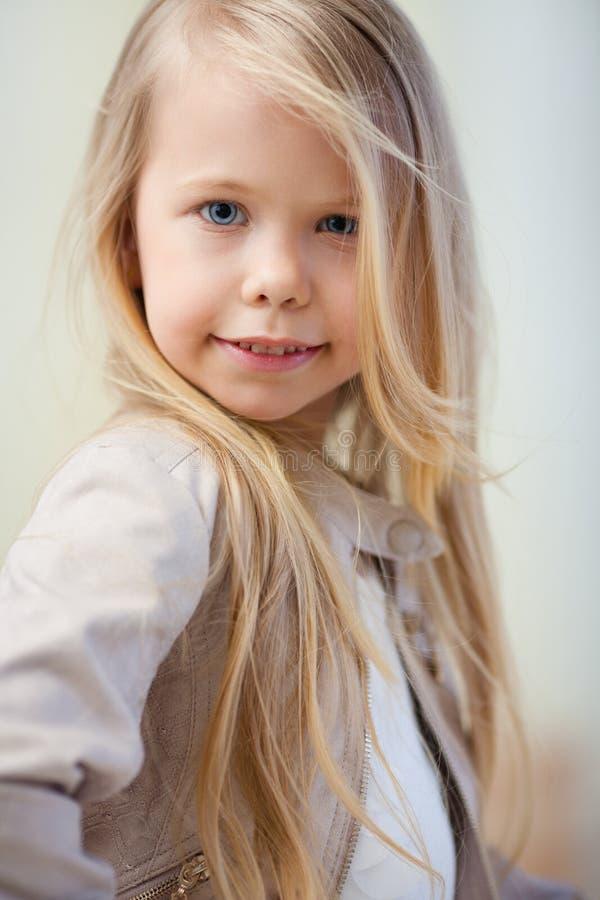 Preschooler dziewczyna obrazy royalty free