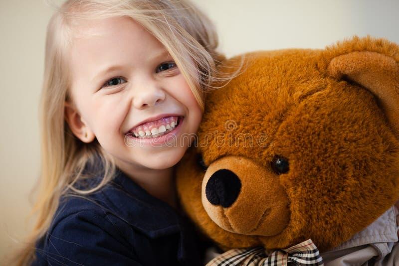 Preschooler girl royalty free stock photo