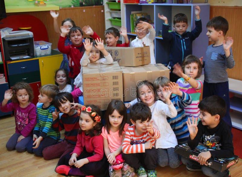 preschoolers fotografering för bildbyråer