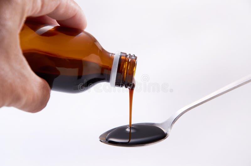 Prescrição da medicina imagem de stock