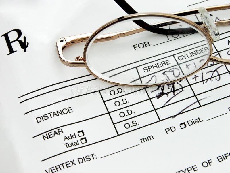 Prescrição Eyewear fotos de stock royalty free