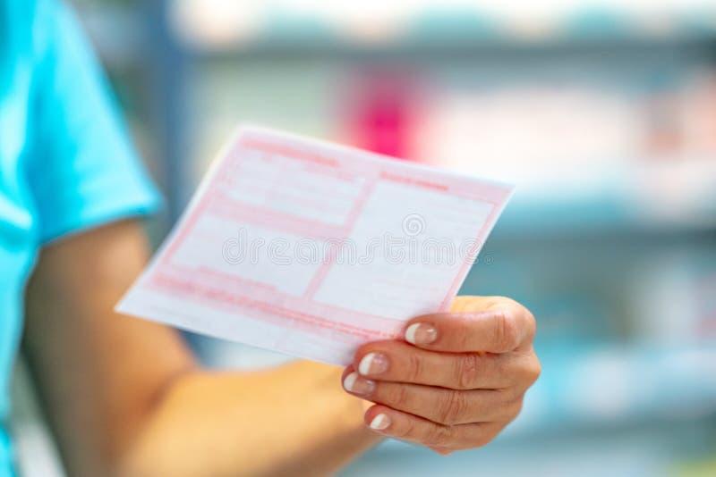 Prescrições pacientes distribuidoras foto de stock royalty free