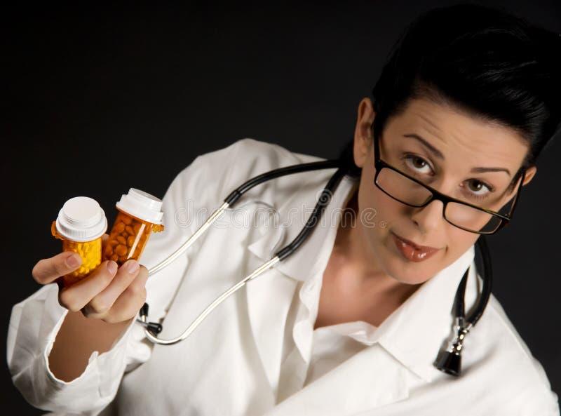 Prescription de docteur photos stock