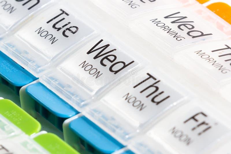 Prescription Drugs Organizer royalty free stock photo