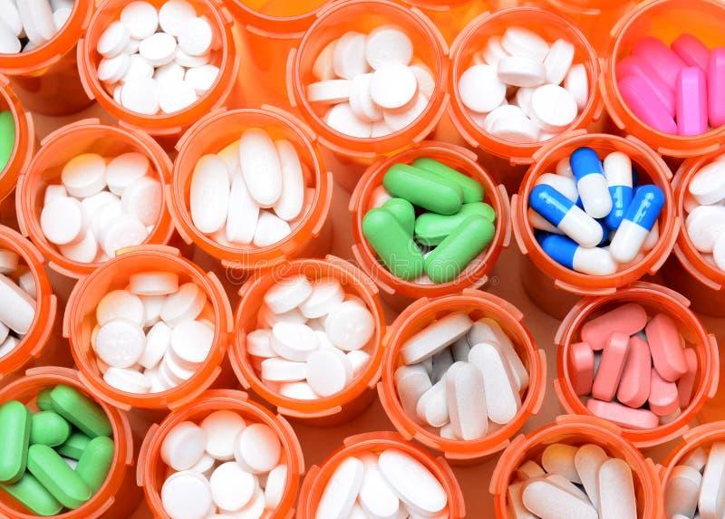 Download Prescription Medicine Bottles Stock Image - Image: 34285657
