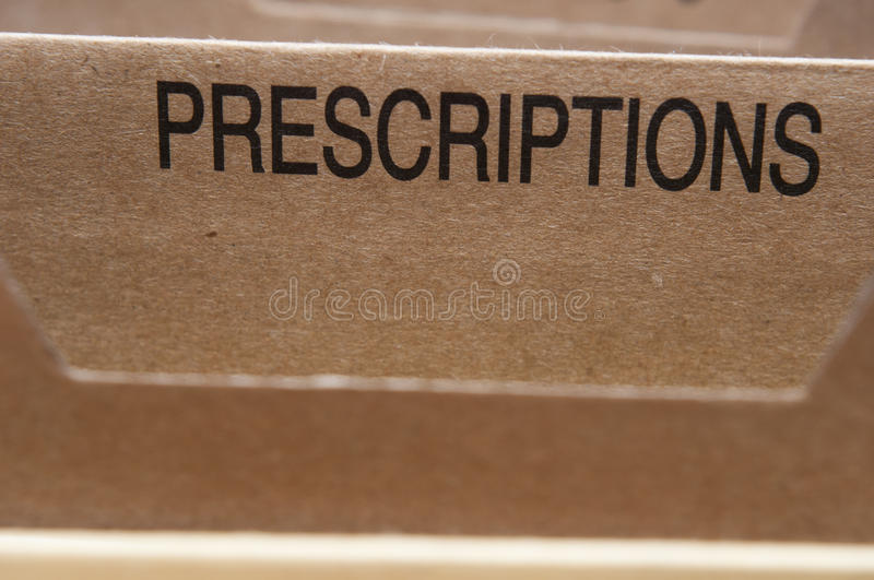 Download Prescriptions Stock Photography - Image: 23609312
