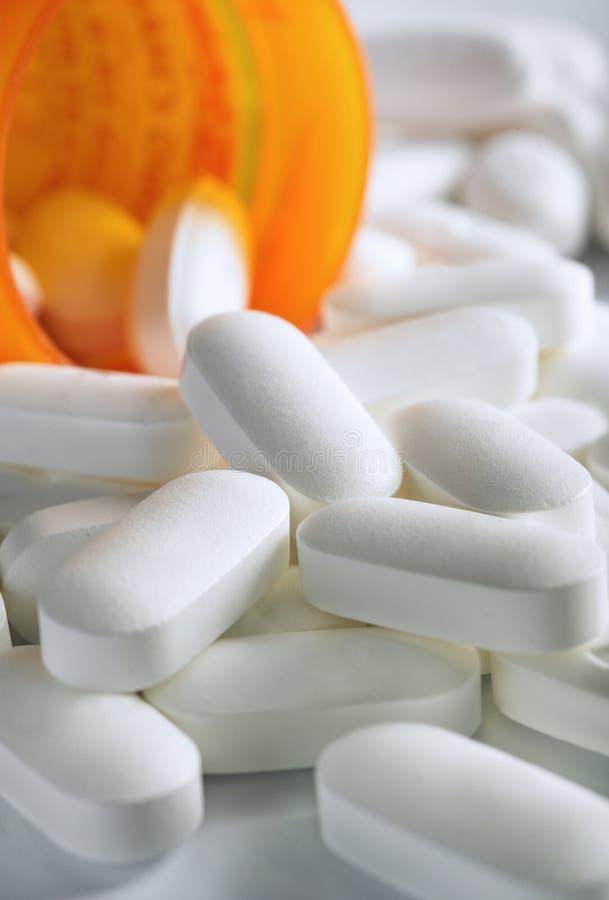 Prescrizione della medicina immagine stock