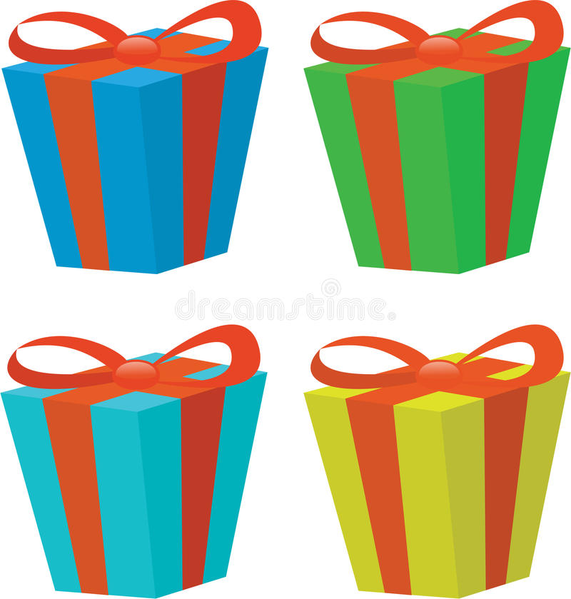 Download Present stock vector. Image of generated, shiny, ribbon - 14811926