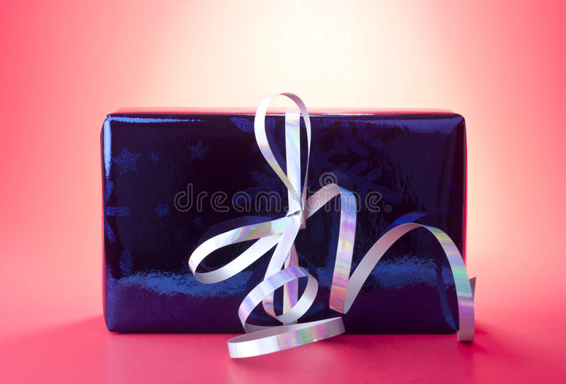 Download Present stock photo. Image of packet, ornament, blue - 26222740