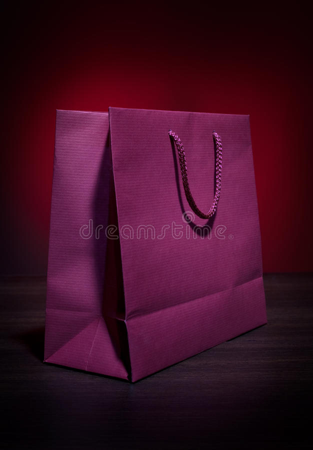 Present Bag Royalty Free Stock Photography