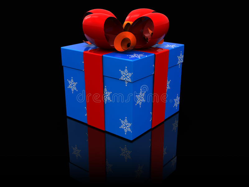 Present Box Stock Images
