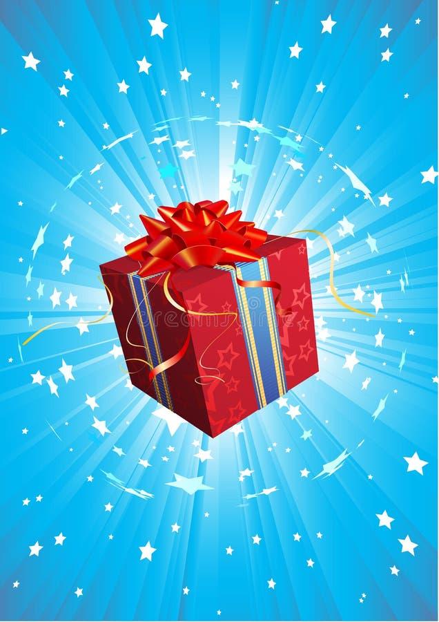 Present box vector illustration