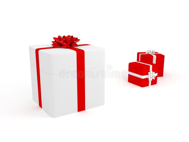 Present Box (more Variants On My Portfolio) Stock Photography