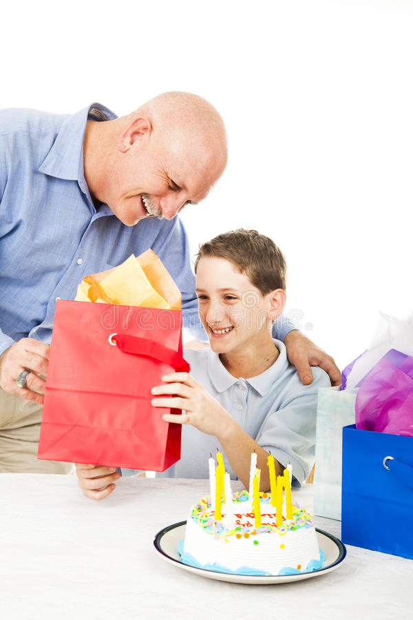 Download Present from Dad stock image. Image of father, giving - 15345299