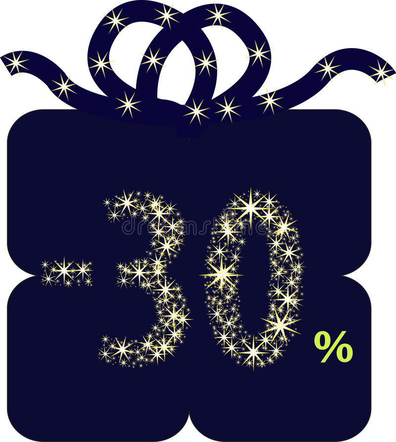 Download Present discount stock vector. Illustration of smile, sales - 7946697