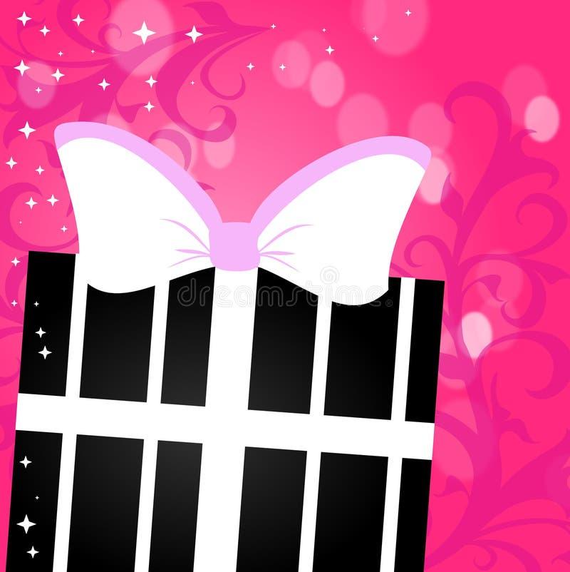 Download Present Gift stock illustration. Image of pink, vintage - 27876147