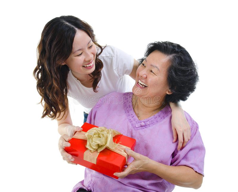 Present for mother stock images