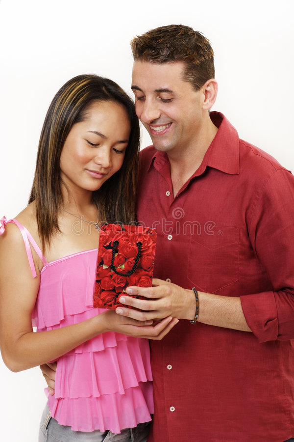 Present for my lover stock images