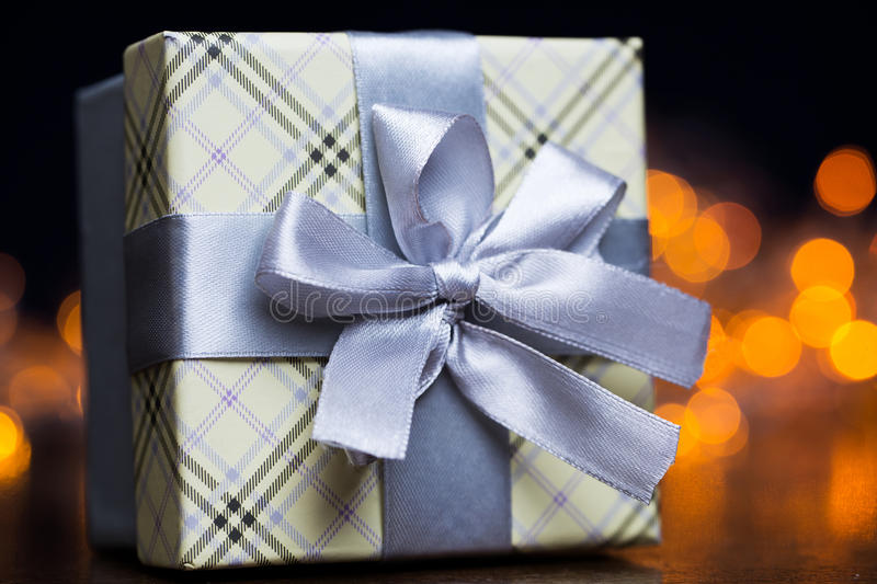 Download Present Package And Garlands Stock Photo - Image: 35755752